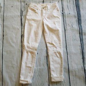 Levi's | 711 Skinny Distressed Jeans